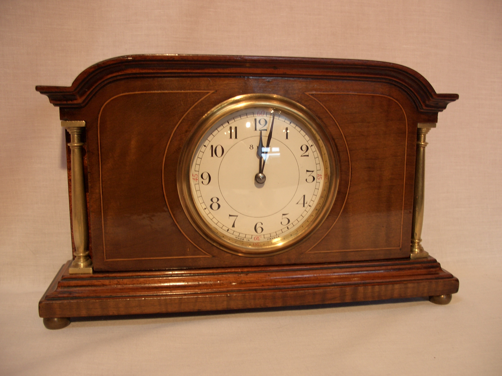 Edwardian mantel clock