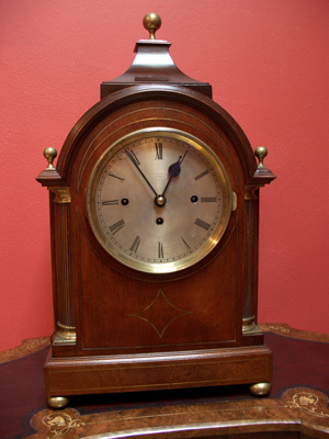 J.W. Benson, English bracket clock
