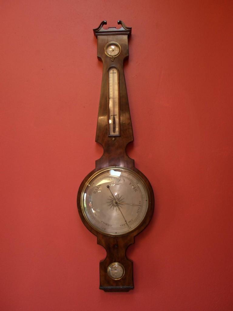Lubini Of London Georgian Mercury Barometer Raymond