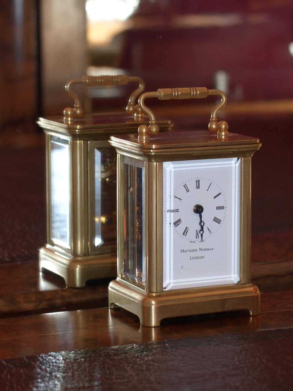 Matthew Norman miniature carriage clock