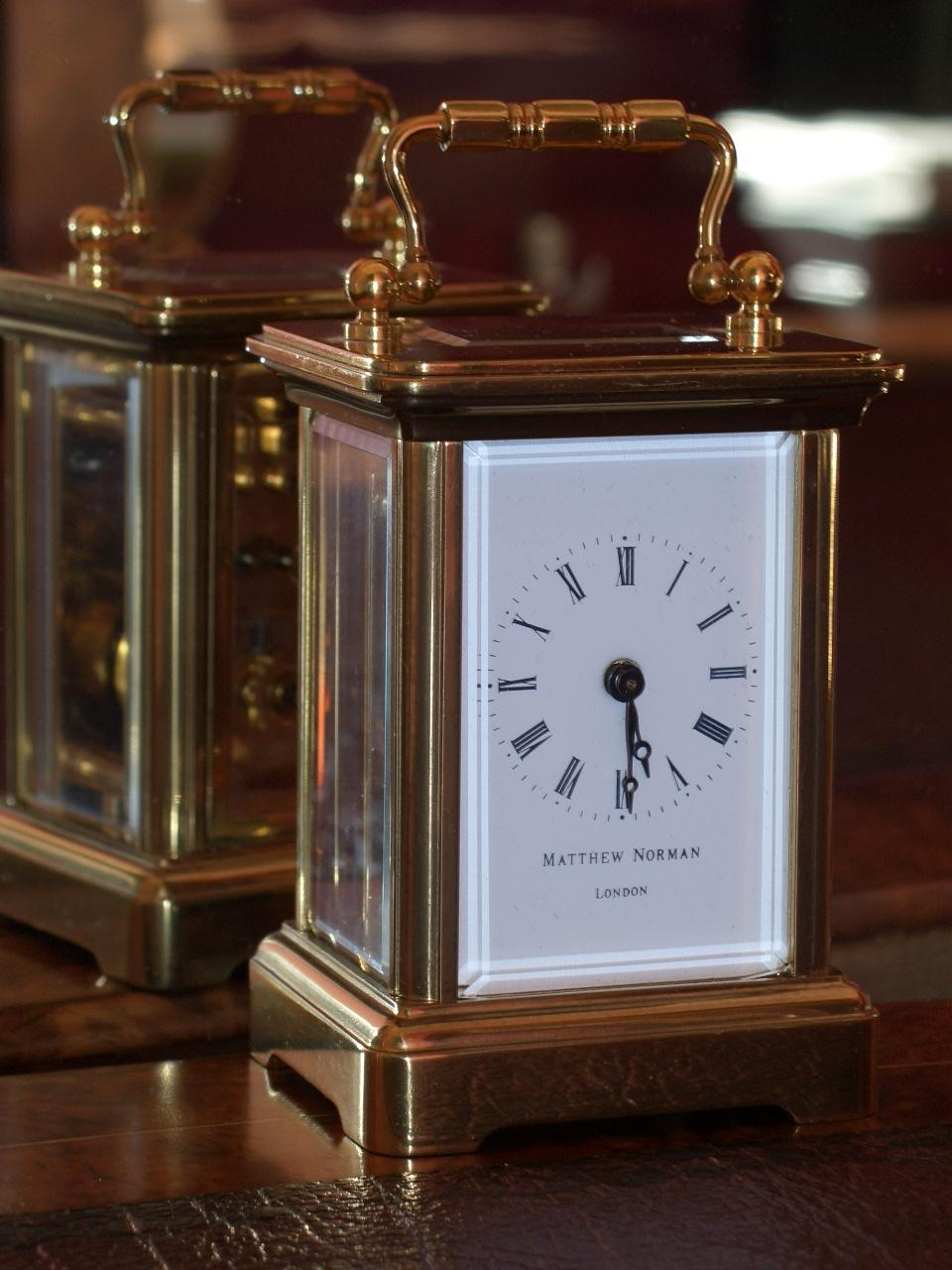 Matthew Norman carriage clock – SOLD.