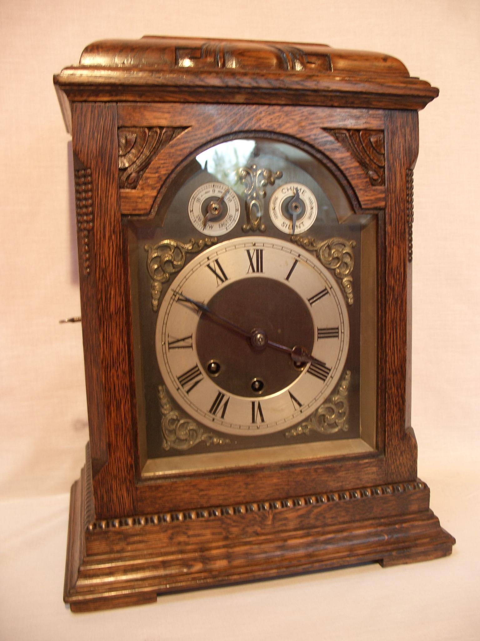 Gustav Becker bracket clock – SOLD