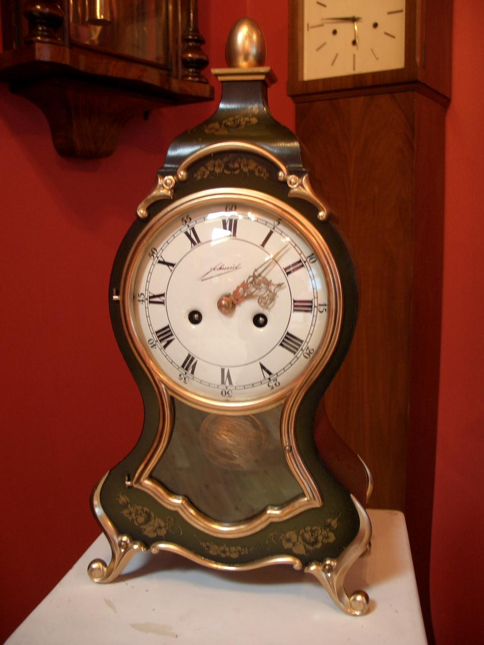 Schmid, French style mantel clock – SOLD