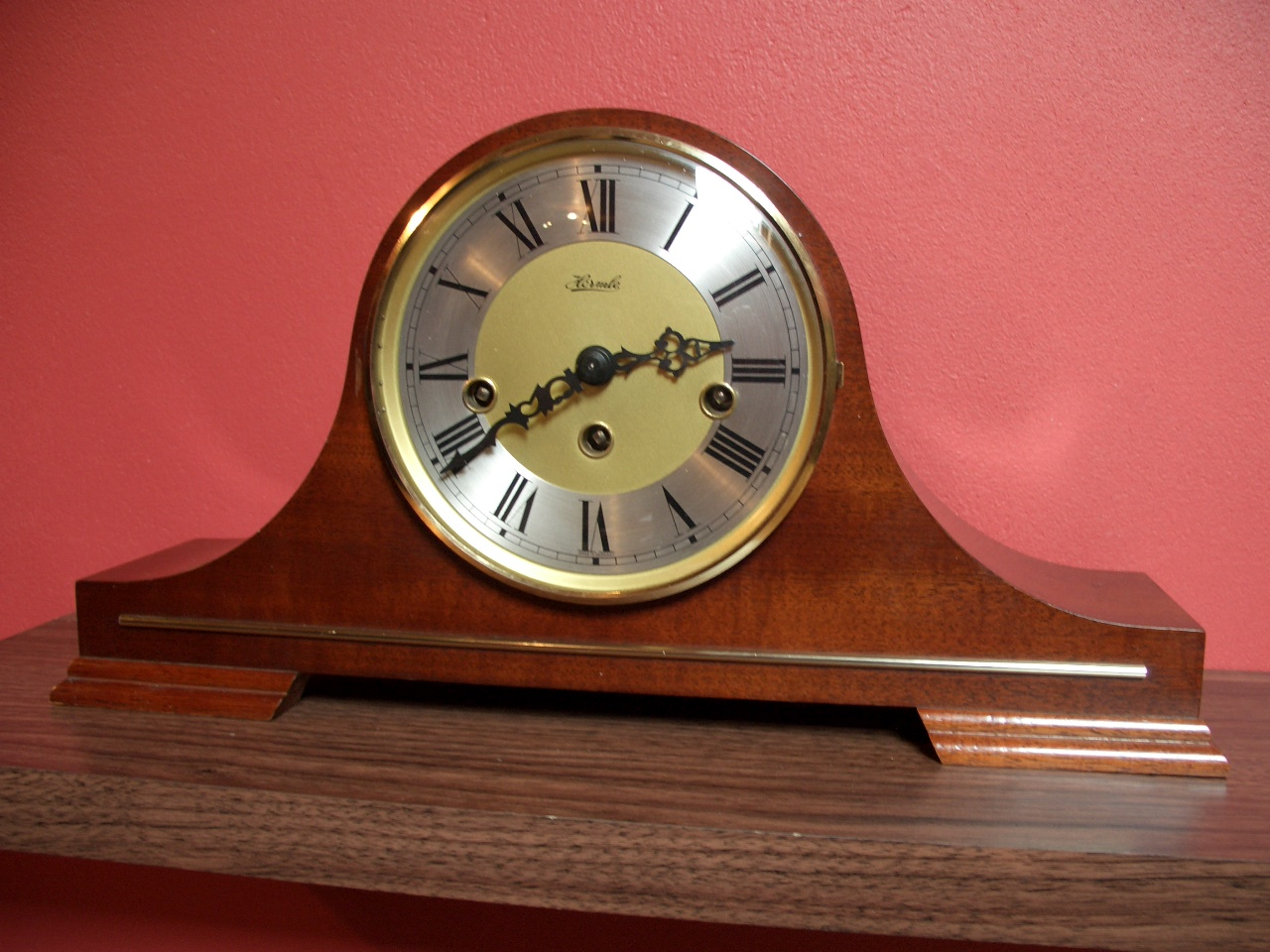 Hermle mantel clock – SOLD