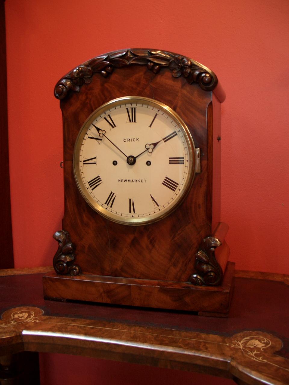 Francis Crick, Victorian mahogany bracket clock – SOLD