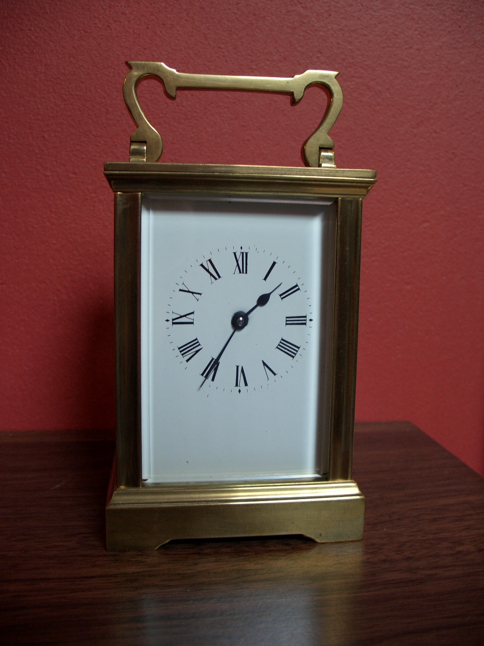 French 8 day carriage clock – SOLD