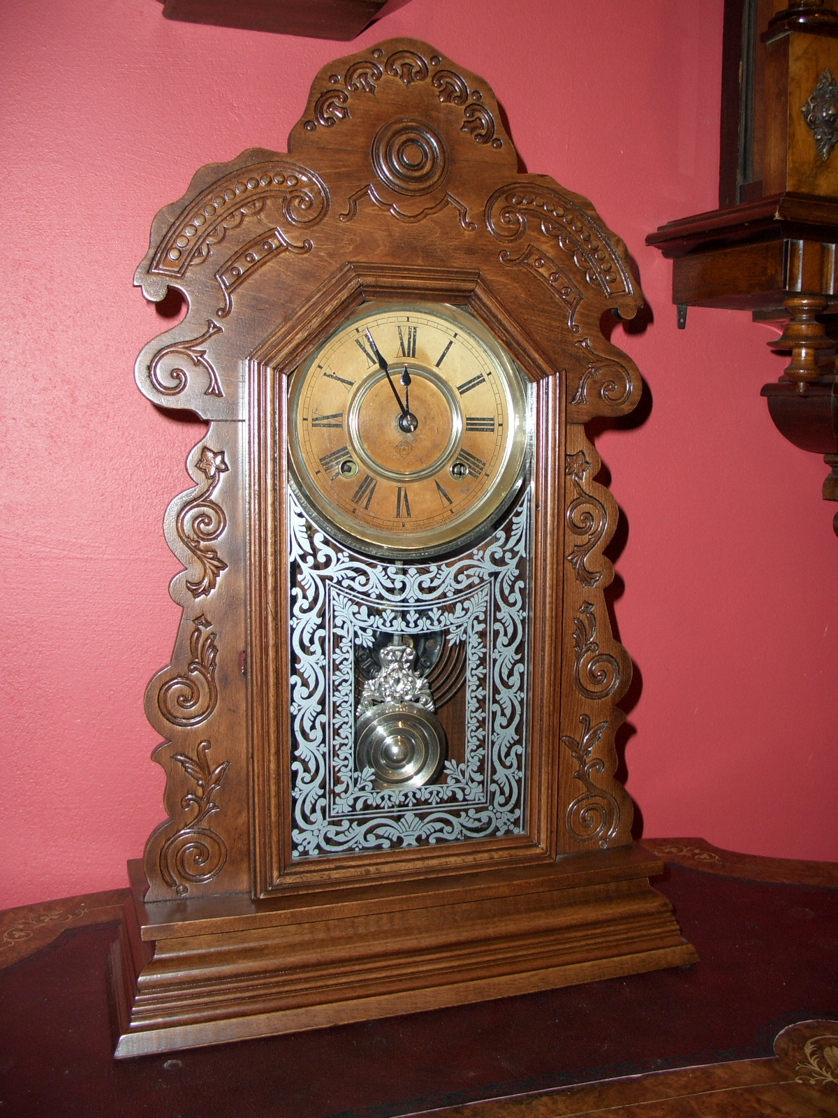Ansonia Shelf Clock Sold Raymond Farrelly Clockmaker