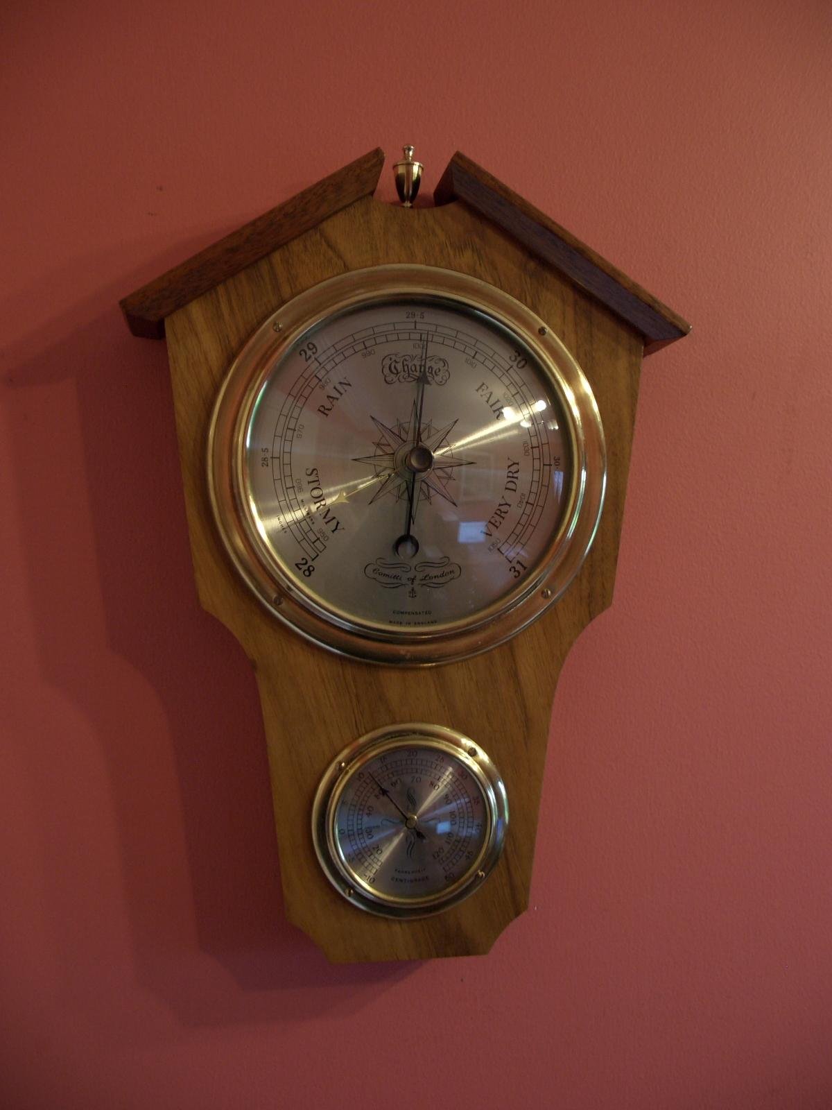 Comitti, Aneroid Barometer – SOLD
