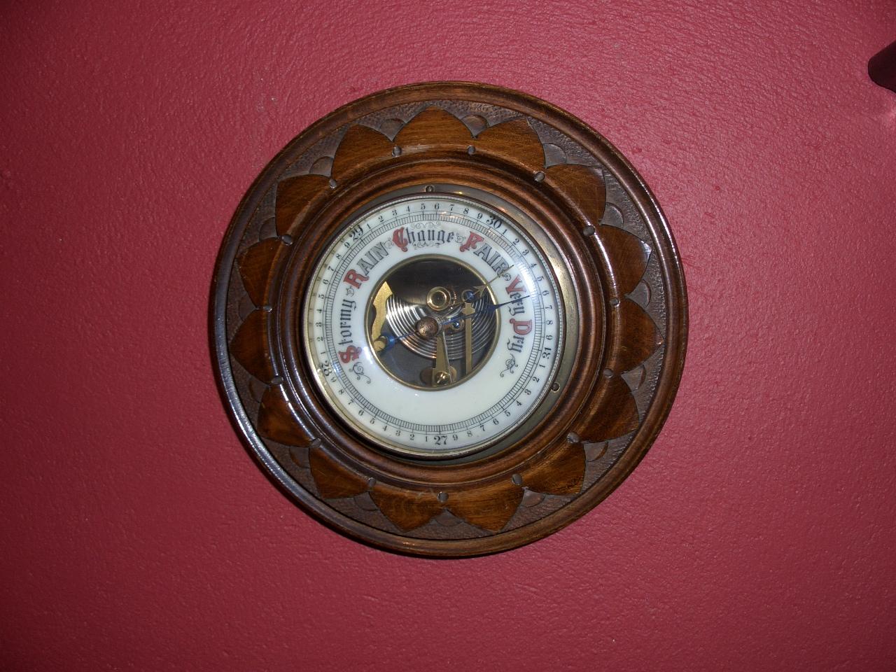 Edwardian Aneroid barometer – SOLD