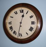 HAC, round dial wall clock – SOLD