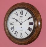 Smiths Enfield round dial wall clock – SOLD